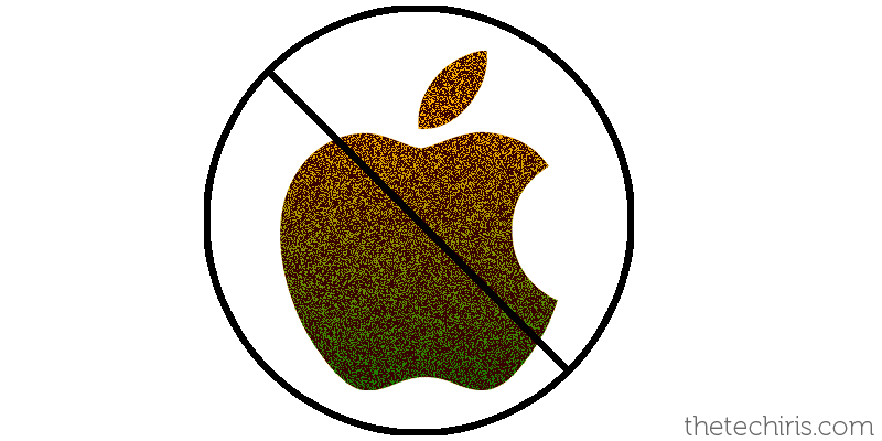 no apple in india